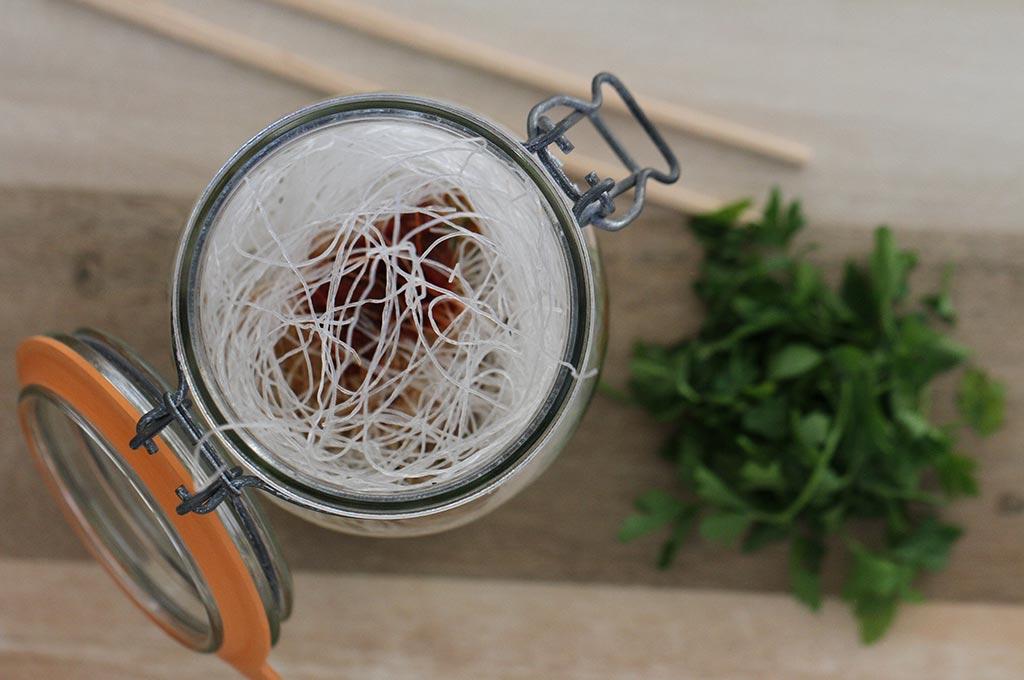 Noodle lunch jars